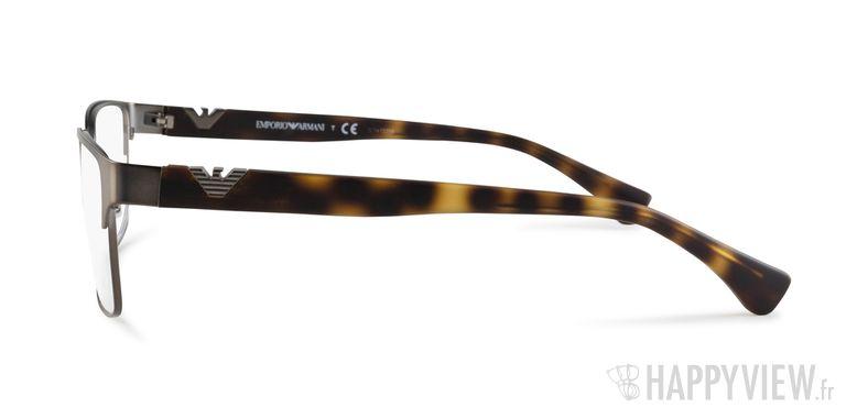 Lunettes de vue Emporio Armani EA 1027 gris/écaille - vue de côté