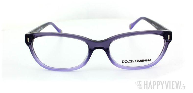 Lunettes de vue Dolce & Gabbana D&G 1205 bleu - vue de face