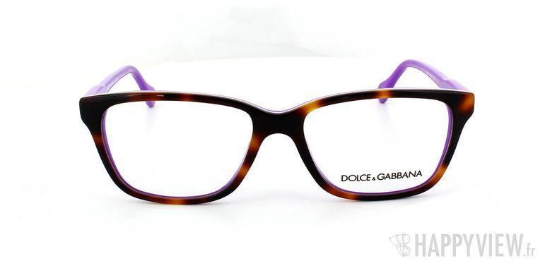 Lunettes de vue Dolce & Gabbana D&G 1238 écaille/bleu - vue de face