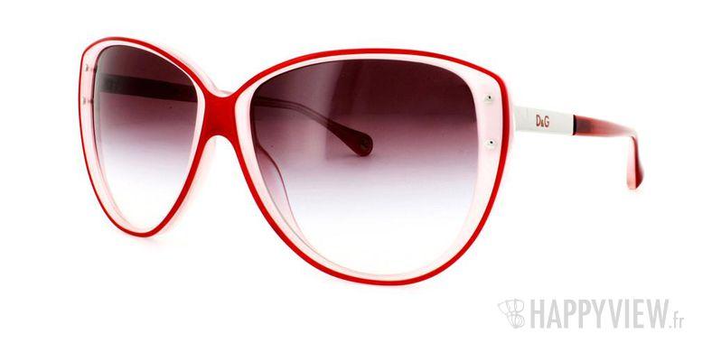 Lunettes de soleil Dolce & Gabbana Dolce&Gabbana 3079 rouge/rose - vue de 3/4