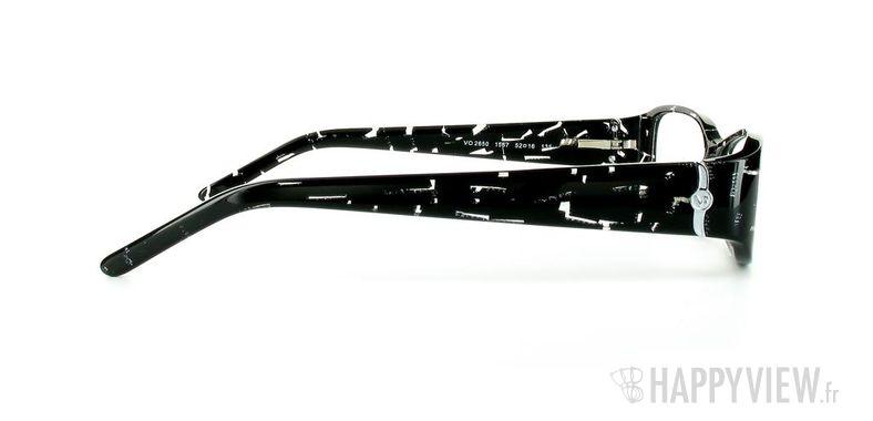 Lunettes de vue Vogue Vogue 2650 noir - vue de côté