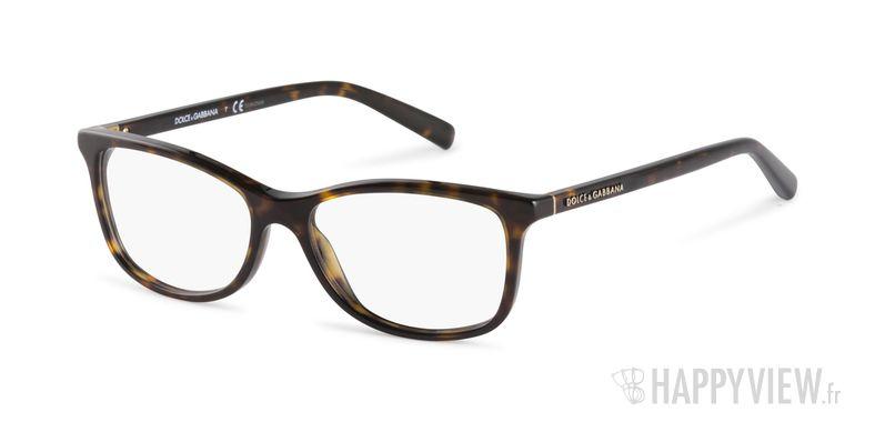 Lunettes de vue Dolce & Gabbana DG 3222 écaille - vue de 3/4