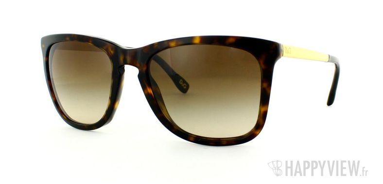 Lunettes de soleil Dolce & Gabbana Dolce&Gabbana 3081 écaille/doré - vue de 3/4