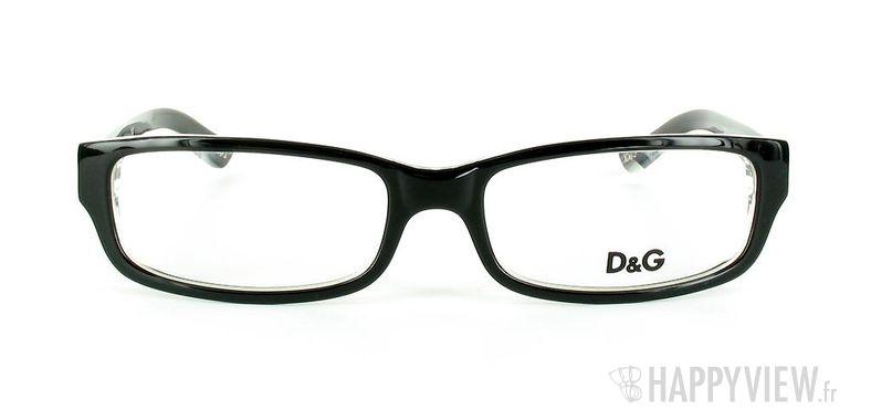 Lunettes de vue Dolce & Gabbana D&G 1167 noir - vue de face