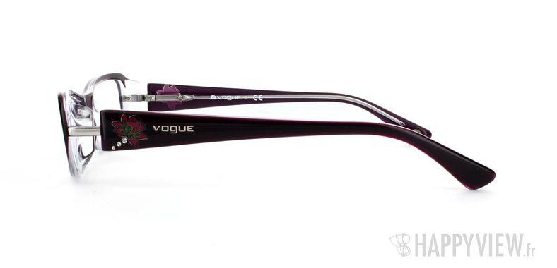 Lunettes de vue Vogue Vogue 2693B bleu/gris - vue de côté