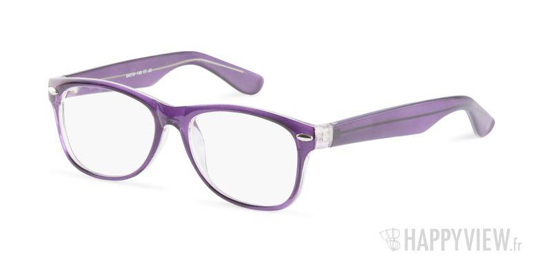 Lunettes de vue Happyview Neuilly violet - vue de 3/4