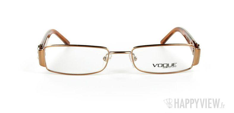 Lunettes de vue Vogue Vogue 3688 marron - vue de face