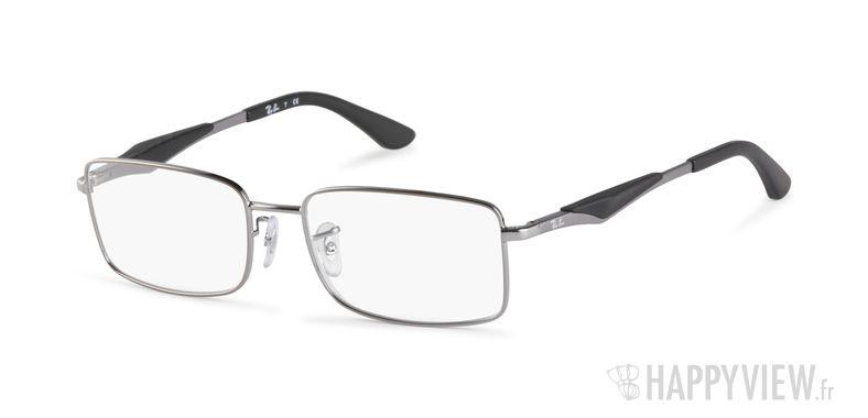 Lunettes de vue Ray-Ban RX 6284 gris - vue de 3/4