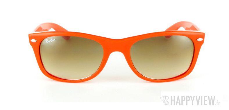 Lunettes de soleil Ray-Ban Ray-Ban New Wayfarer orange - vue de face