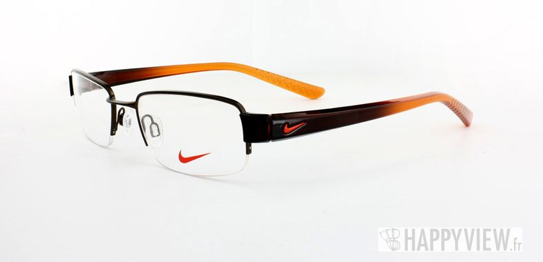Lunettes de vue Nike Nike 8062 marron/orange - vue de 3/4