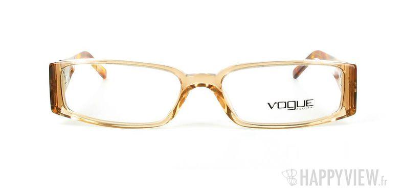 Lunettes de vue Vogue Vogue 2557B marron - vue de face