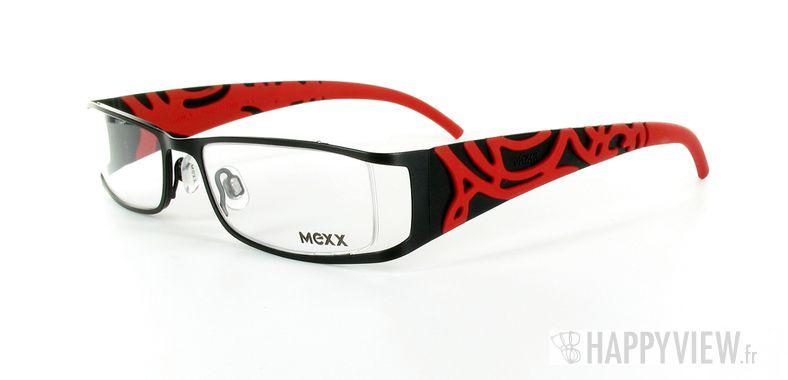 Lunettes de vue Mexx Mexx 5042 noir/rouge - vue de 3/4