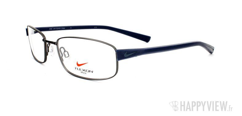 Lunettes de vue Nike Nike 4226 bleu/argenté - vue de 3/4