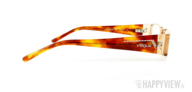 Lunettes de vue Vogue Vogue 2557B marron - vue de côté