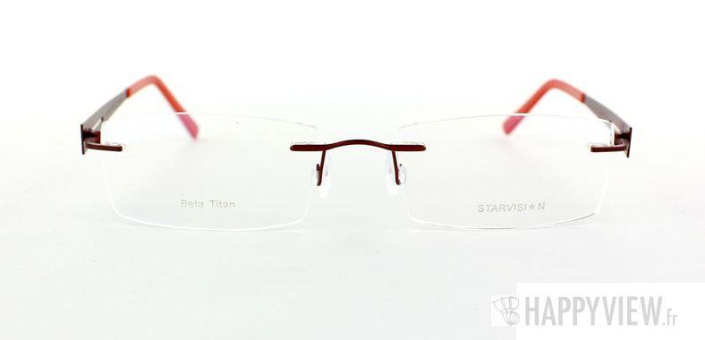Lunettes de vue Starvision by Seiko Starvision 1006 Titane rouge - vue de face