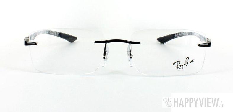 Lunettes de vue Ray-Ban Ray-Ban RX8404 Carbone noir - vue de face