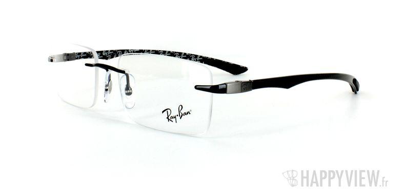 Lunettes de vue Ray-Ban Ray-Ban RX8404 Carbone noir - vue de 3/4
