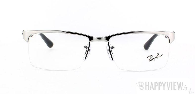Lunettes de vue Ray-Ban Ray-Ban RX8411 Carbone argenté - vue de face