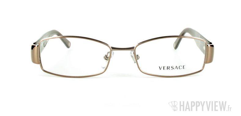 Lunettes de vue Versace VERSACE 1168H marron - vue de face