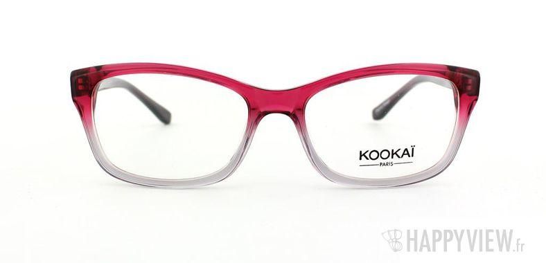 Lunettes de vue Kookaï Kookai 109 rose/bleu - vue de face