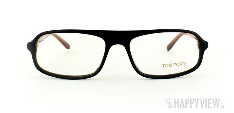 Lunettes de vue Tom Ford Tom Ford 5165 noir - vue de face