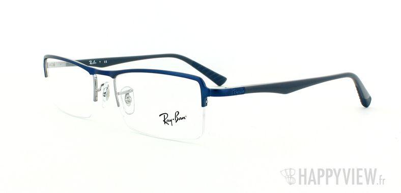 Lunettes de vue Ray-Ban Ray-Ban RX6233 bleu/gris - vue de 3/4