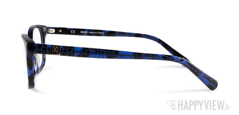 Lunettes de vue Kenzo KZ 2238 bleu - vue de côté