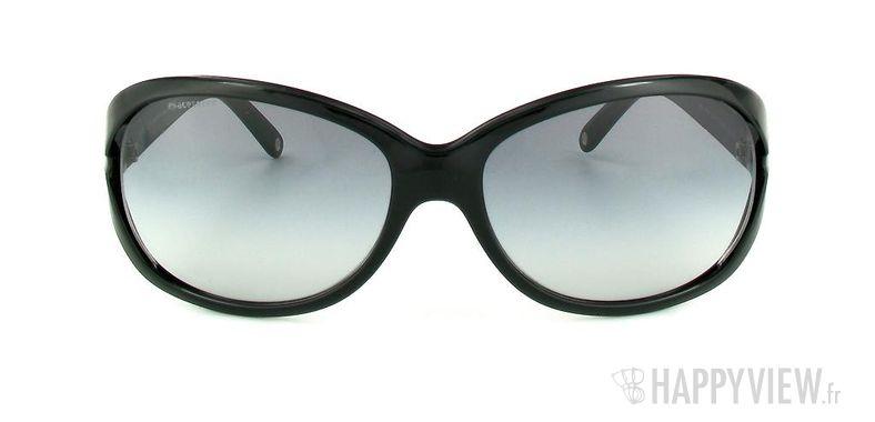 Lunettes de soleil Versace Versace VE4186 noir - vue de face