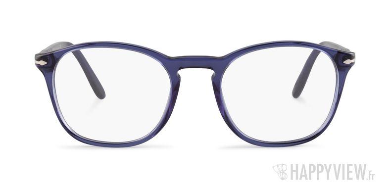 Lunettes de vue Persol PO 3007V bleu - vue de face