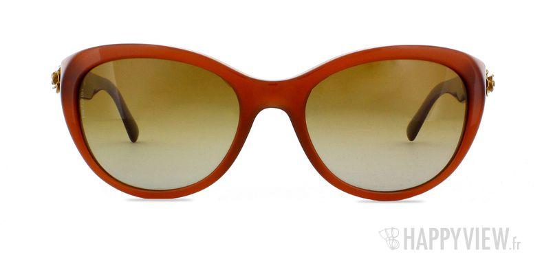 Lunettes de soleil Dolce & Gabbana DG 4160 marron - vue de face