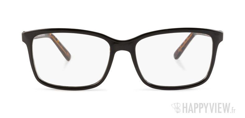 Lunettes de vue Happyview Dijon noir/écaille - vue de face