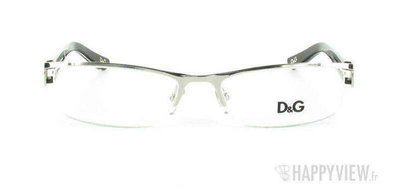 Lunettes de vue Dolce & Gabbana D&G 5069 argenté/noir - vue de face