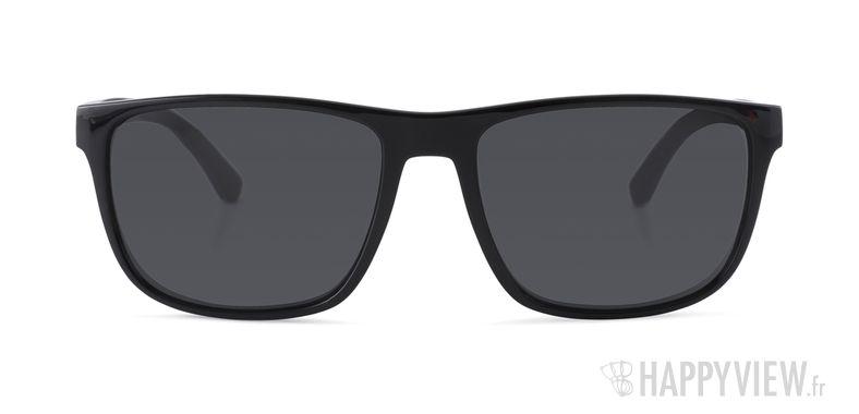 Lunettes de soleil Emporio Armani EA 4087 noir - vue de face