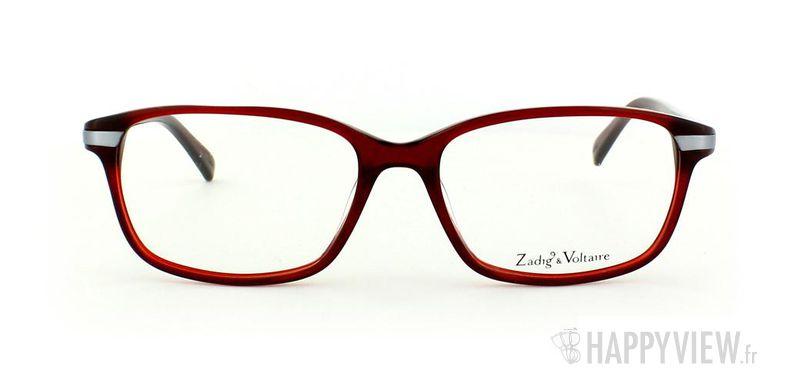 Lunettes de vue Zadig&Voltaire Zadig&Voltaire 2014 rouge - vue de face
