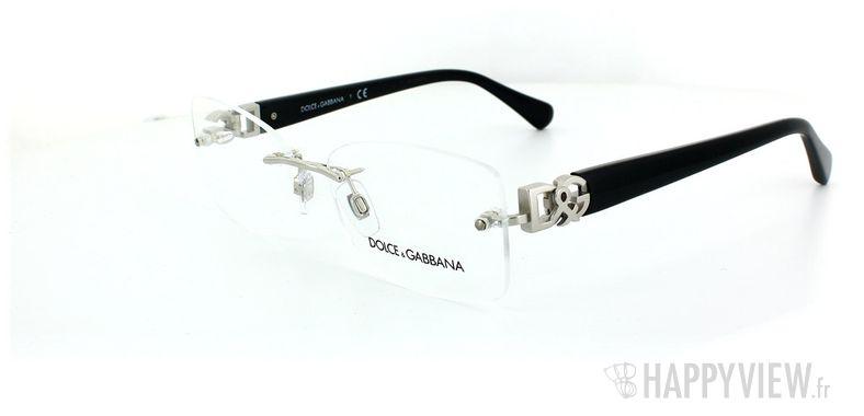 Lunettes de vue Dolce & Gabbana Dolce & Gabbana 1240 gris - vue de 3/4