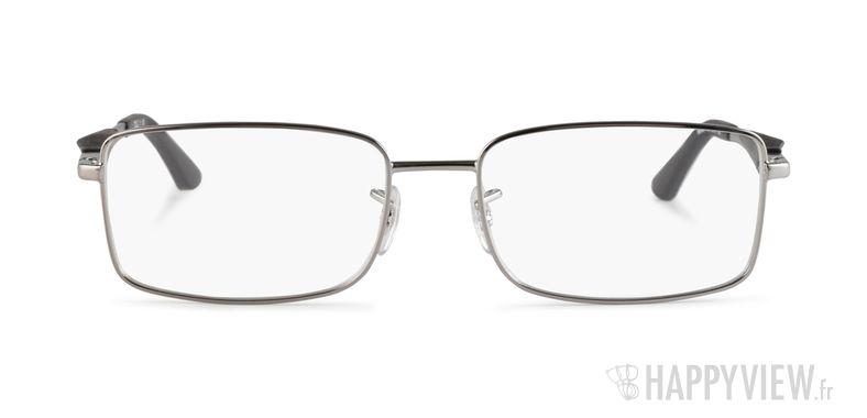 Lunettes de vue Ray-Ban RX 6284 gris - vue de face