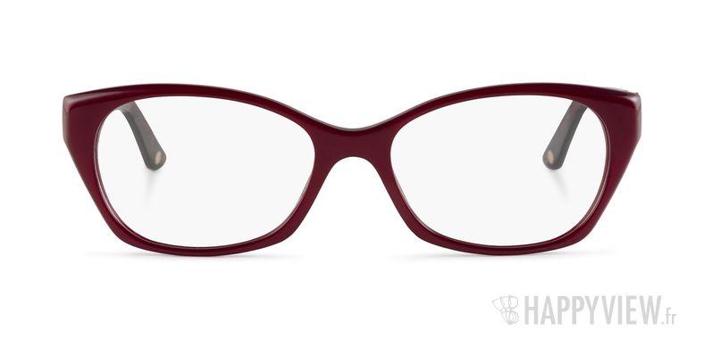 Lunettes de vue Versace VE 3170B rouge - vue de face