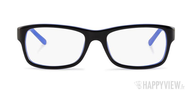 Lunettes de vue Ray-Ban RX 5268 bleu/noir - vue de face