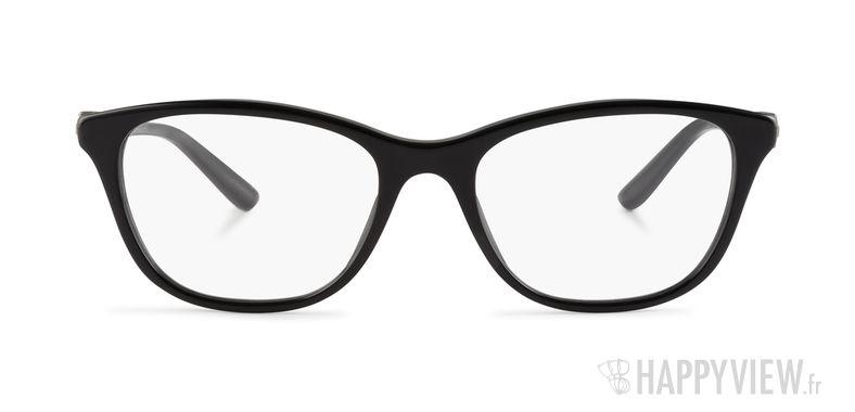 Lunettes de vue Versace VE 3213B noir - vue de face