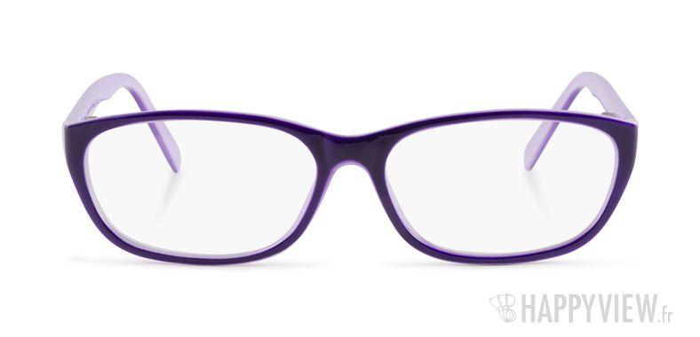 Lunettes de vue Happyview Melun violet - vue de face