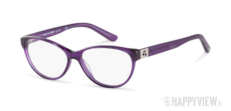 Lunettes de vue Le Temps des Cerises April violet - vue de 3/4