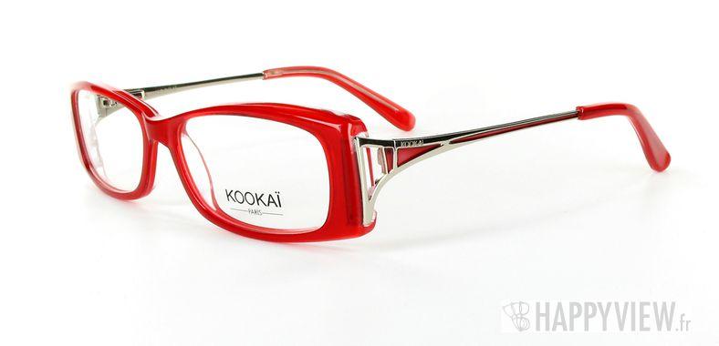 Lunettes de vue Kookaï Kookai 102 rouge - vue de 3/4